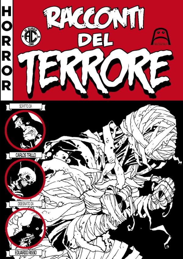 RACCONTI DEL TERRORE cover